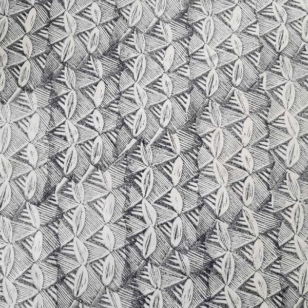Margaret hand printed fabric by Sarah Burns Patterns
